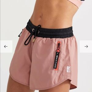 P.E Nation double drive short in rose dawn pink XS